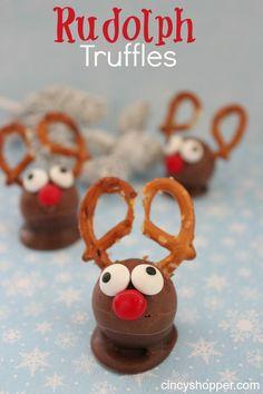 Quick & Easy Rudolph Treats Truffles