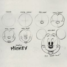 How to Draw Mickey Mouse More