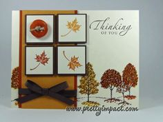 PPA107 - Thinking of Fall by Cindy Hall - Cards and Paper Crafts at Splitcoaststampers