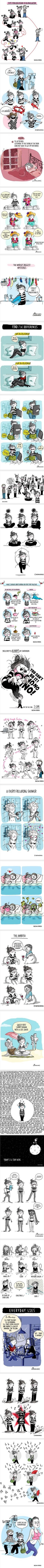 24 Comics About What It's Like To Be A Girl (By Agustina Guerrero)