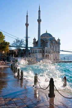 Istanbul, Turkey. http://www.travelandtransitions.com/destinations/destination-advice/europe/istanbul-travel-hagia-sophia-blue-mosque-topkapi-palace/