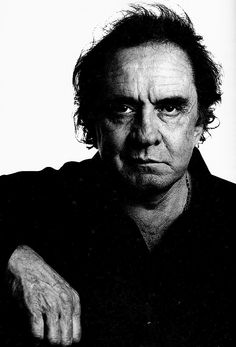 Johnny Cash (1932-2003) - American singer-songwriter, actor, and author who was considered one of the most influential musicians of the 20th century. Photo by Peter McDiarmid, 1994.