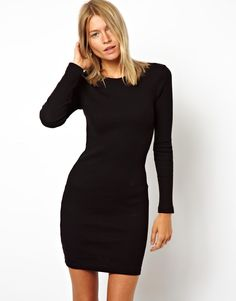 Easy go-to fall dress.