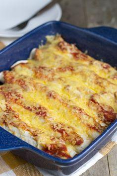 Snelle enchilada met gehakt