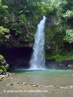 Tavoro Waterfalls (Bouma National Heritage Park, Taveuni, Fiji)