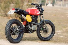 This heavily modified Yamaha XT600 custom was built by—of all people— Spain's Radical Ducati workshop.