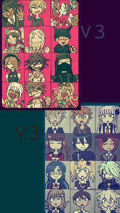 New Danganronpa V3, Super Danganronpa, Danganronpa Characters, Pink Blood, Trigger Happy, Video Game Art, Manga, Me Me Me Anime, Anime Art