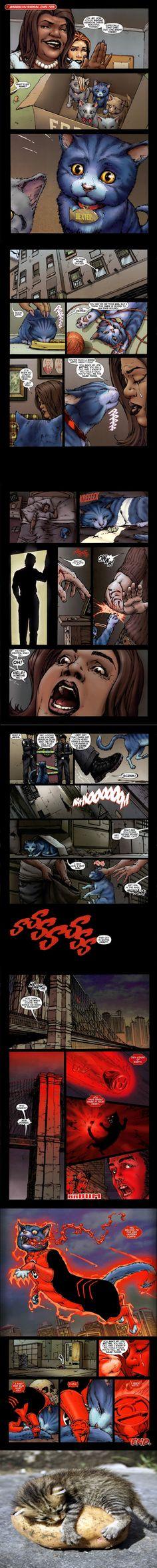 Dex Starr, the Red Lantern's Origin