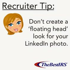 What type of picture do YOU think is #TheBest for your #LinkedIn profile? Our recruiters wouldn't suggest this one…#recruitertip #careerhelp