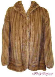 Vintage Kolinsky Cape #K760; $600.00; Very Good Condition; Size range: S - XL.  This is a stunning vintage genuine kolinsky fur cape with a beautiful directional front design. Kolinsky is sometimes called kolinsky mink; it is very similar to mink. It features a shawl collar and has hooks and eyes for the ability to have partial sleeves or, instead, be worn as a cape. This sensational kolinsky cape just oozes with 40's vintage glamour. Love the look of bygone eras?  This is the fur cape for you!