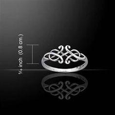 Silver Celtic Designed Ring