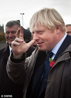 Boris Johnson gave as good as he got on a walkabout in Bristol, cocking a snook at a protestor