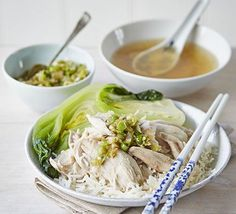 A healthy Asian-inspired dish ideal for an easy dinner. Use the leftovers to make our cold chicken noodle salad for the next day.