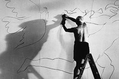 """""""Painting is stronger than I am."""" - Pablo Picasso, painter, Spanish (at the age of Pablo Picasso, Picasso Drawing, Georges Braque, Spanish Painters, Expositions, Henri Matisse, Renoir, Famous Artists, Art Studios"""