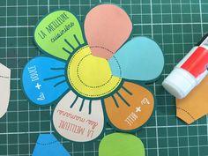 Ma carte à construire pour la fête des mères - Blog Hop'Toys Mothers Day Crafts For Kids, Classroom Door, Education, Diy, Cadeau Parents, Cards, Montessori, Animation, Ideas