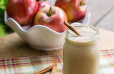 It's apple season, why not try a healthy Caramel Apple Protein Shake? This is a super thick, creamy, and filling protein shake tha. Best Apple Recipes, Fall Recipes, Favorite Recipes, Yummy Drinks, Yummy Food, Delicious Recipes, Apple Smoothies, Protein Shakes, Whey Protein