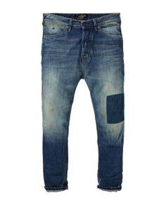Stump plus - Hitchhike Patch|Denims - Non Fashion|Mannenkleding bij Scotch & Soda SS14