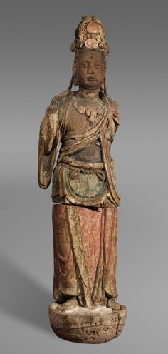 Bodhisattva Made in China Period: Southern Song Dynasty (1127-1279)