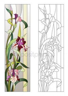 shutterstock image stained glass pattern | Vettoriali stock Macchia, Illustrazioni Macchia royalty ...
