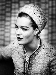 Romy Schneider in Chanel - 1962 - Berlin - Photo by Heinz Köster