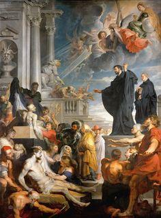 Рубенс (Rubens) Питер Пауль (1577-1640). Чудо св Франциска Ксаверия. Коллекция Венского Музея истории искусства (Kunsthistorisches Museum).