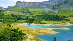 Le barrage de Roselend