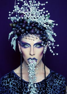 Ryan Burke might be the most creative MUA/Stylist ever. Incredible mad man!! Love.
