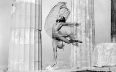 The Hungarian dancer Nikolska in the Parthenon. Athens, Greece 1929 by Nelly's (Elli Souyioultzoglou-Seraidari)- Benaki Museum Benaki Museum, Greek History, Greek Art, Portraits, Great Photographers, Athens Greece, Photo Archive, Vintage Photographs, Old Photos