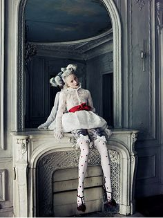 Shoot by Bruno Dayan inspired by the art of Ray Caesar