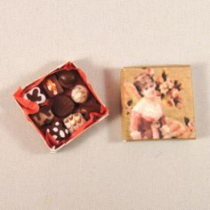 112 Scale Dollhouse Miniature Box of by NorthernMiniatures on Etsy, $7.50