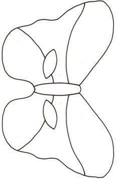 gabarits masque de papillon