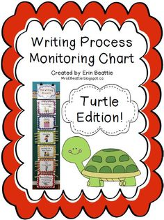 Writing Organization Woes Solved in Mrs. Beattie's Classroom! ~Turtle Theme~