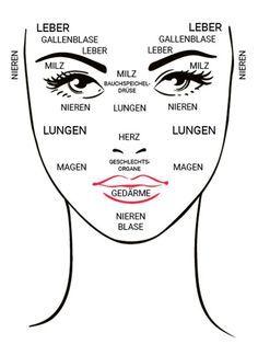 So wie unsere Augen der Spiegel unserer Seele sind, ist unsere Haut der Spiegel unserer Gesundheit. Vor allem im Gesicht sind Funktionsstörungen innerer Organe schnell sichtbar. Hautspannungen und -veränderungen können auf Organstörungen hindeuten.