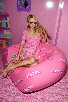Paris Hilton attends the Jeremy Scott and Moschino Party With Barbie on Dec. 4, 2014, in Miami Beach.  Getty -Cosmopolitan.com