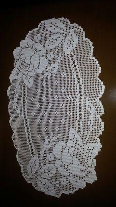 Dantel Crochet Dollies, Crochet Doily Patterns, Thread Crochet, Filet Crochet, Irish Crochet, Crochet Lace, Crochet Table Runner, Crochet Tablecloth, Birthday Wishes Greetings