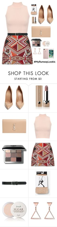 """""""♡ #17"""" by abiegarrison ❤ liked on Polyvore featuring Yves Saint Laurent, Marc Jacobs, WearAll, Bobbi Brown Cosmetics, M&Co, Express, Fresh and vintage"""