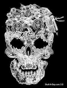 Lace Skull .