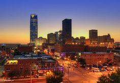Oklahoma City skyline, OK