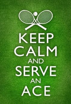 Serving an ace is the best feeling in the world