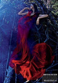 Модные новости: Осенне-зимние фотосессии для модных журналов