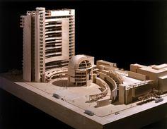 San Jose City Hall, San Jose CA | Richard Meier's Model Museum, Long Island City