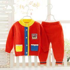 Infantil outerwear Bebê camisola Criança cardigan Bebê roupas de menina roupas de Bebê menino Menino menina menino ternos two-piece CC057