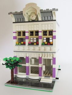 Modular houses - building tips & inspirations - Page 6 - Building LEGO - BRICKPICKER