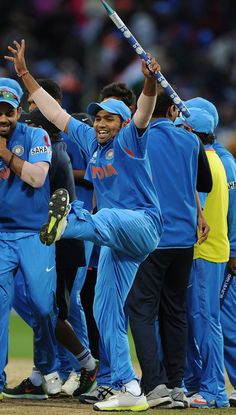 Images: India v England - ICC Champions Trophy 2013 India Cricket Team, Cricket Sport, One Day International, Ravindra Jadeja, Dhoni Wallpapers, Cricket Wallpapers, Champions Trophy, Blue Army, Cricket World Cup