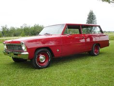 ✿1966 Chevrolet Chevy II Station Wagon✿ Chevy Nova, Cheap Cars, Nice Cars, Collector Cars, Station Wagon, General Motors, Car Car, Buick, Car Show