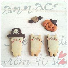 halloween cookies w/ alpaca brothers