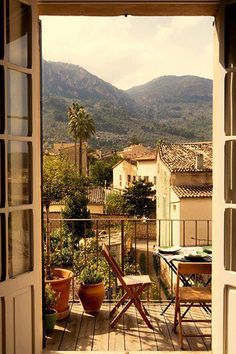 Provence , France--what a beautiful picture! may have to make this part of the honeymoon Porches, Beautiful World, Beautiful Places, Beautiful Scenery, Outdoor Spaces, Outdoor Living, Window View, Interior Exterior, Interior Design