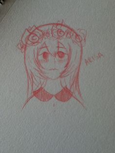 My new OC- her name is Arisa (`_´)ゞ
