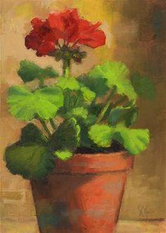 DPW  Original Fine Art Auction - First Bloom - © Linda Jacobus