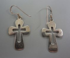For your Sunday consideration, sterling silver cross earrings, $18 and $23.40. Wouldn't it be a special way to share your faith with that special someone on Thursday? 2/10/13
